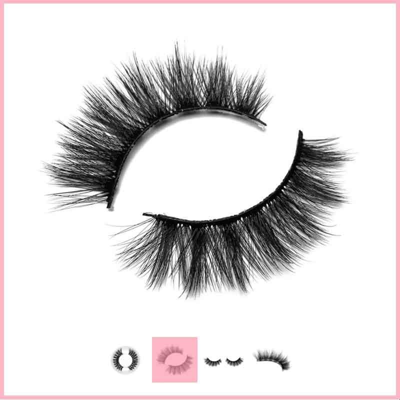Choose eyelash styles