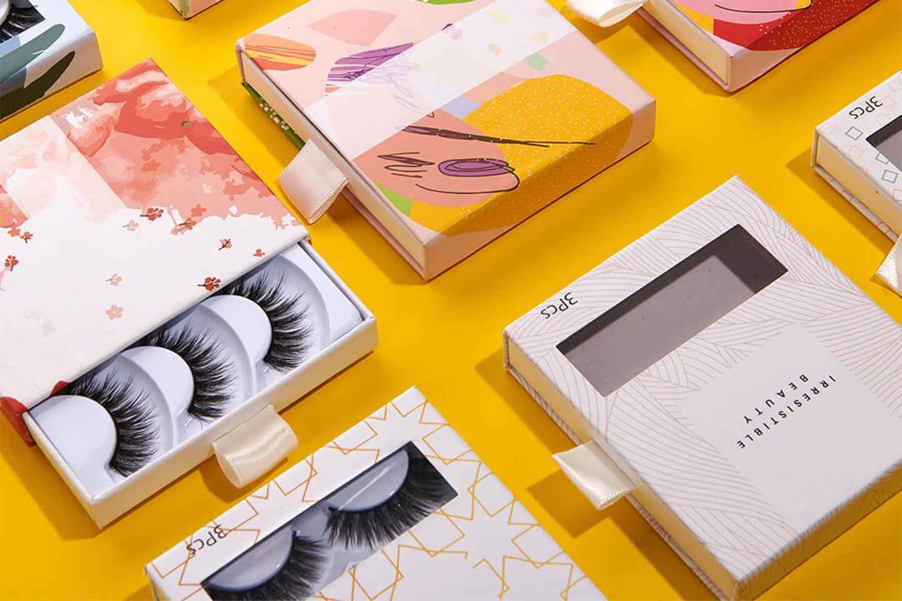 eyelashes packagings