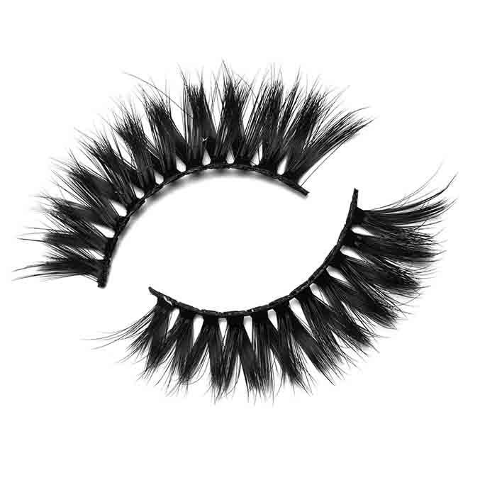 16-17mm Comfortable Volume Faux Mink Eyelashes