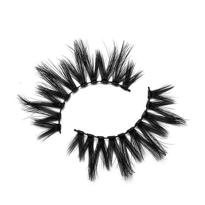 17-19mm Ordinary Criss-Cross Faux Mink Eyelashes