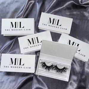 30mm Mink Eyelashes Packaging