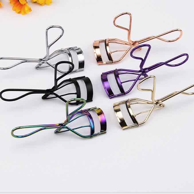 Electroplate Color Eyelash Curlers