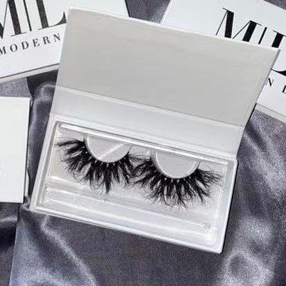 Mink fur eyelashes materials