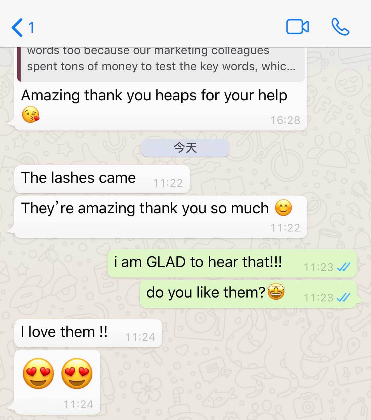 Starseed eyelashes customer reviews