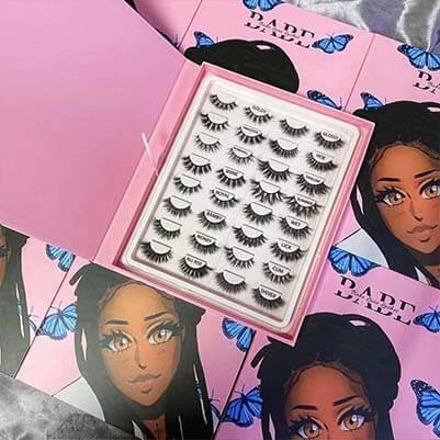 Starseed book eyelashes boxes