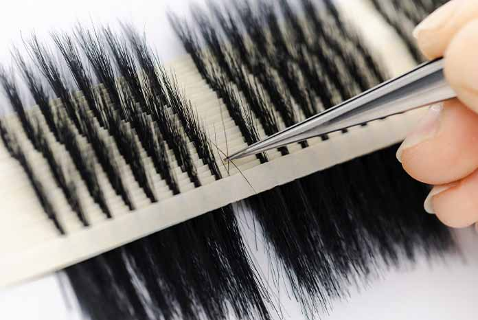 Starseed eyelashes quality in factory