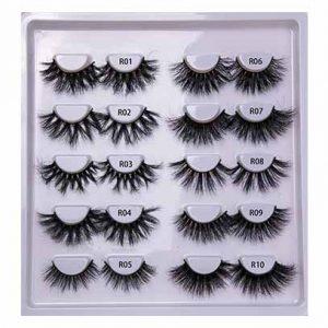 Starseed free eyelashes sample