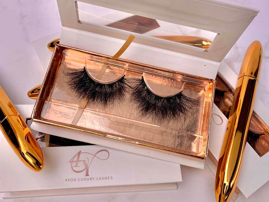 customized eyelashes packaging for big brands
