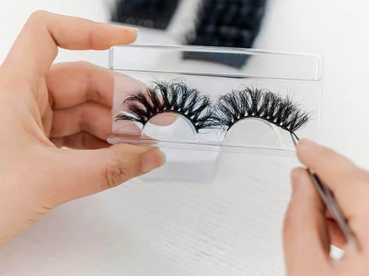 eyelashes manufacturing eyelash packaging