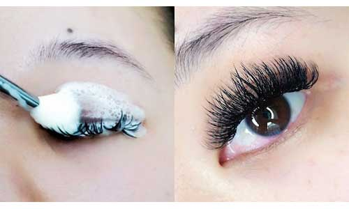 Cleaning-Semi-Permanent-Lashes