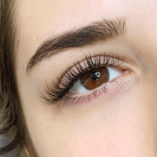 B Curl eyelashes extension
