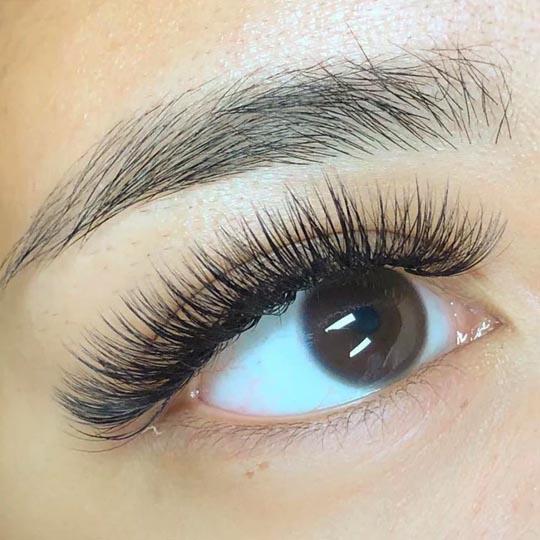 C Curl eyelashes extension