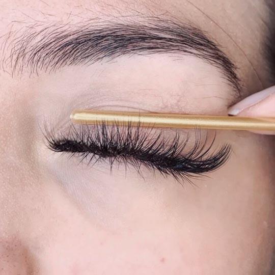 J Curl eyelashes extension